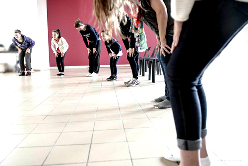 Atelier duo danse parents enfants