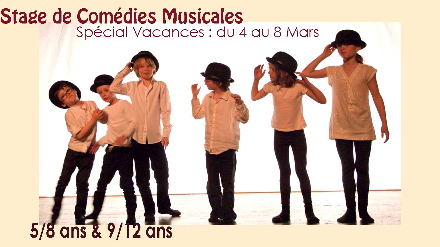 Stage Comédie Musicale