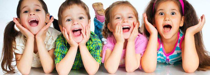 Enfants sourire